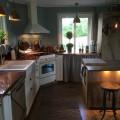 Före och efter i köket