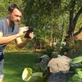 Hög tid att fotografera trädgården